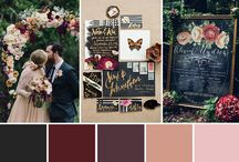 wedding design / flowers, color schemes, decor