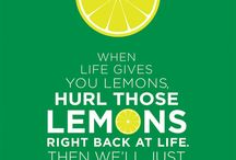 when life gives you lemons :D / So many creative ways, what to do when life gives you lemons... :D