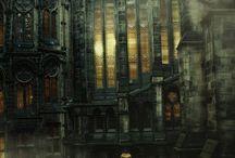 peisaje gotice
