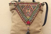 Bag Bag Bag / Boho design-Recycle-Clutch