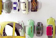 * Put Those Toys Away * / Avoid risk of death by toy avalanche with these nifty toy storage ideas. / by Laura The Toy Tattler