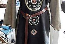 My own creations / Kostüm Atelier Heyke Möller / Historische Kostüme die basierend auf Beschreibungen, Darstellungen etc. gefertigt wurden. Historical costumes, made based on descriptions, sculptures and illustrations