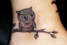 Tattoos ben, fødder