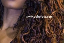 Boho Locs Founder Lulu Pierre / Meet Lulu Pierre! The founder and creator of Boho Locs.