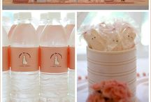 candy buffet & backdrops