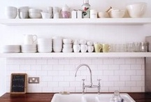 Taylor + Chloe's Home / bright whites, warm wood and neutral toned color palette <3 / by Chloe Moore