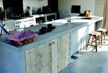 cuisine siporex/beton