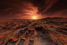 Mars landscapes