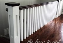 banister ideas / by Kim Saunders