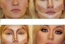 Face make up / Contour