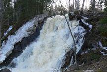 Juveninkoski / Juveninkosken 7-metrinen putous Jämsässä