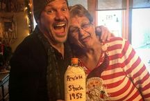 Chris Jericho with his family