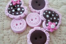 botones de porcelana