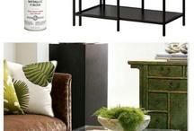Living Room Ideas: Rustic + Metallic