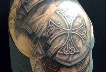 Tatuaje de armadura