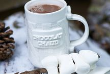 Coffee hot chocolate tea