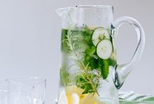 Herbs and Water
