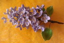 Cukorvirágaim / Cukorból készült virágaim.