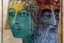 """Los Mil Rostros de """"Ël"""" / Dioses y Arquetipos Universales. La Energia Masculina en todas las culturas y épocas."""