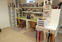 crafts room/design studio