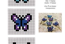 Hama Beads - Butterfly