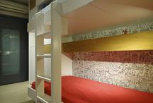 Bunk Beds & Cupboards (by LEFKO) / Bunk beds and cupboards. Research, design & construction by LEFKO.