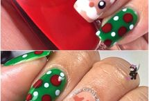**Christmas mood NAIL ART designs** / OH CHRISTMAS TREEEEEEEE ... ****