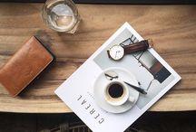 coffee books rain