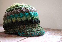 Crochet - hats/scarves/gloves