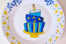Hey hey it's your Birthday! / Birthday plates and pieces.