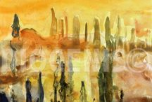Tempera - Art painting / Fine Art, paintings, Tempera, oil, Watercolor, Decoration Art, Home Decoration
