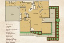 Cornerstone Homes Floorplans / We offer two and three bedroom, one story living villas ranging from 1,300 to 1,900 square feet with an attached 2 car garage, patio or veranda. These are tastefully clustered together with a community clubhouse, fitness center and pool to make a small, close-knit neighborhood.