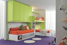 Kids bedroom ideas / by Jessika Brown