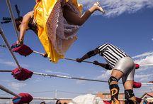 Cholita Luchadores