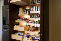 Kitchen Pantries / Tricks to make your pantry more organised and functional.
