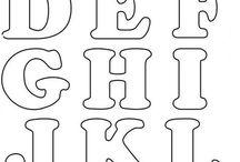 Bokstäver 字母