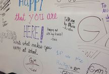 Whiteboard Messages from Miss 5th and others