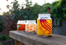 Things you can do with baby food jars / by Courtney Warman