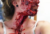 Special effects makeup/ Body Painting / by Margie Naatz