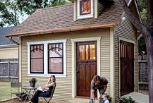 Mini house-mobil heimy / Romantic house for garden and living