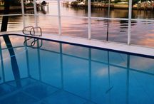 Dolphin's Run, Waterfront, Vacation Rental, Florida / Dolphin's Run is a 3BR/2BA waterfront vacation rental with a private pool, dock and screened lanai.