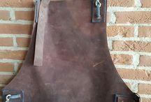 leather apron handmade