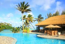 Nautilus Resort Rarotonga / Discover the beauty of this cool elegant and Polynesian inspired resort located in the Cook Islands