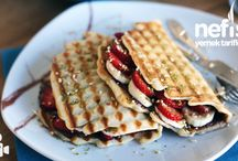 waffle yapımı