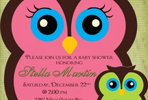 Owl's invitations / by Madeline Morcelo