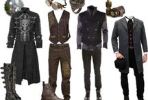 Steampunk man costume