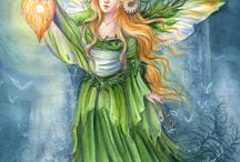 Anges Elfes Lutins