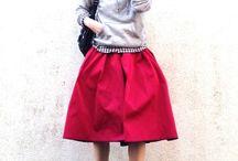 赤ファッション
