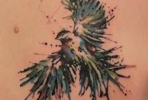 madár tatto