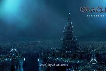Atlantis / Oracle Series Sunken Earth (first in a seven book series) features three mysteries and Atlantis is one of them!